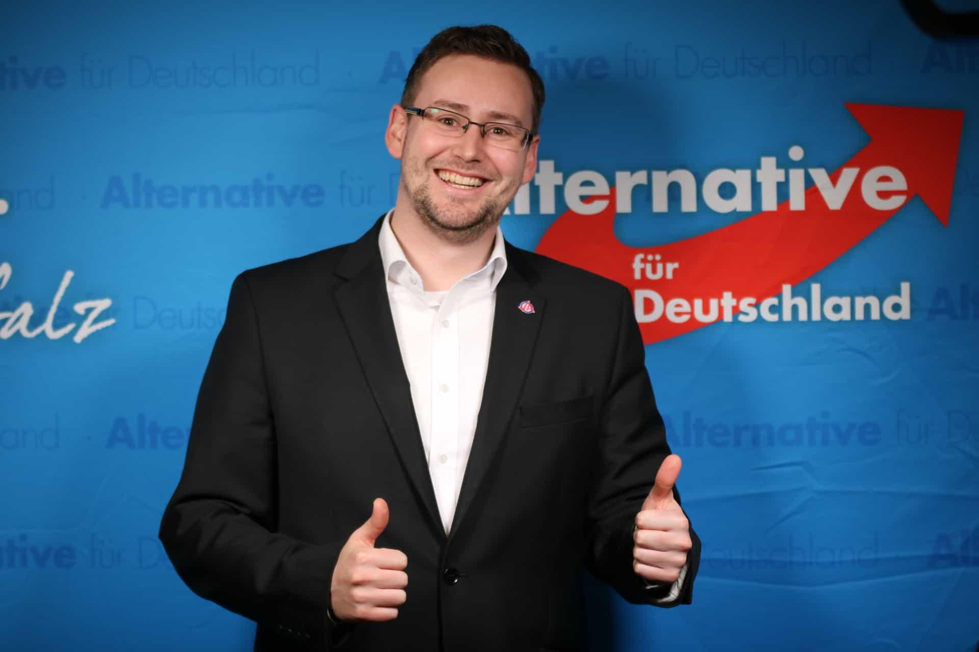 Mainzer AfD wählt neuen Vorstand – Sebastian Münzenmaier im Amt bestätigt