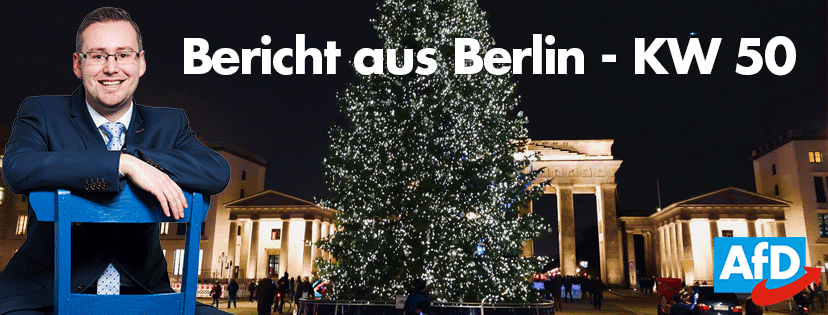 Bericht aus Berlin – KW 50