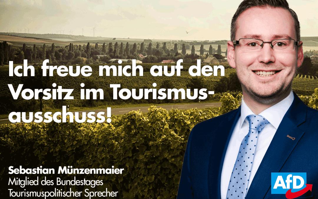 Nominierung zum Vorsitzenden des Tourismus-Ausschuss