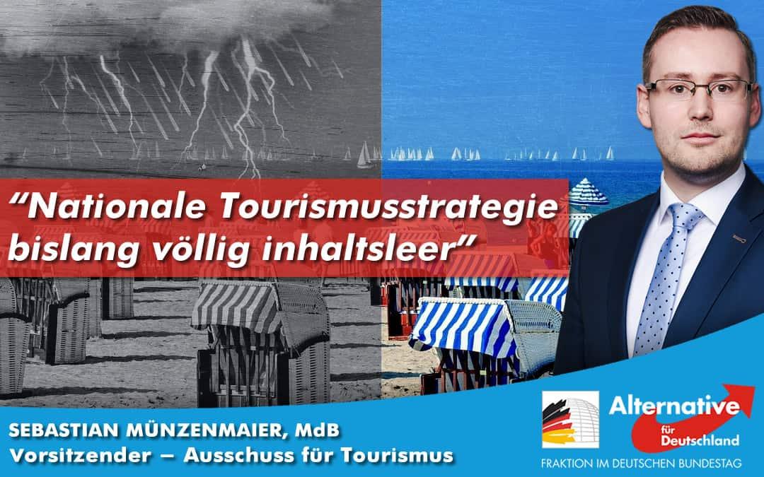 Pressemitteilung zur nationalen Tourismusstrategie