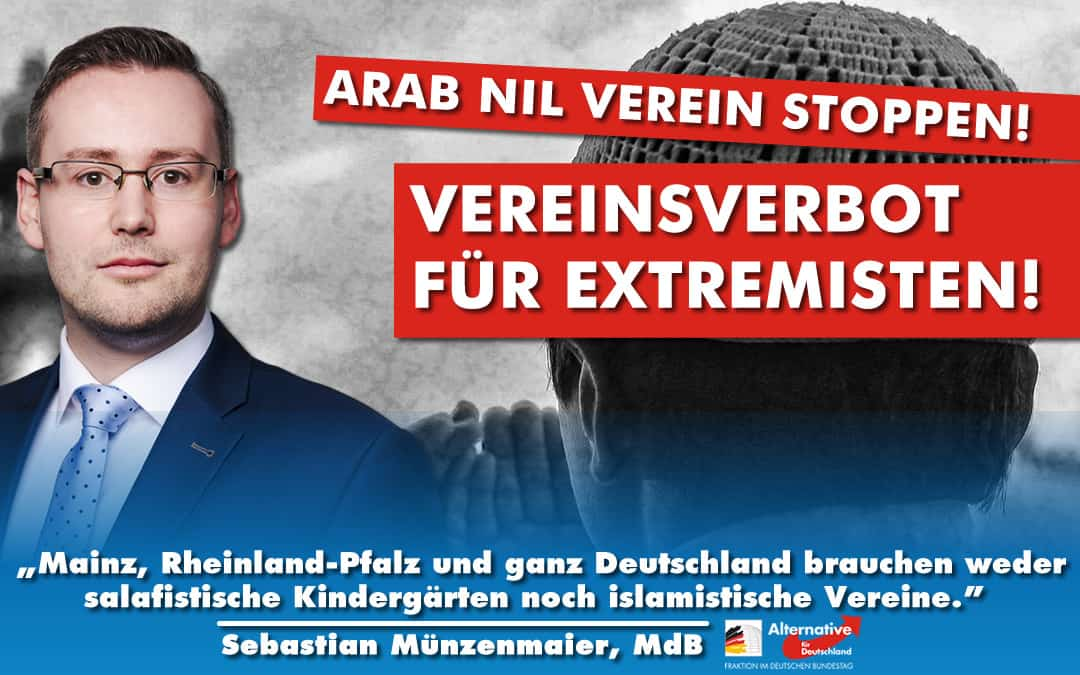 Verbot des Arab Nil-Vereins gefordert