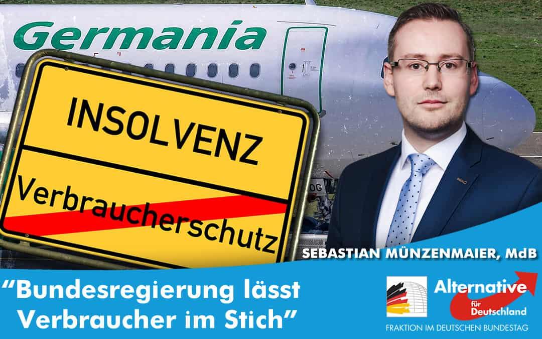 Germania Insolvenz - Bundesregierung lässt Verbraucher im Stich