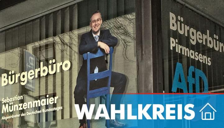 Wahlkreis - Sebastian Münzenmaier