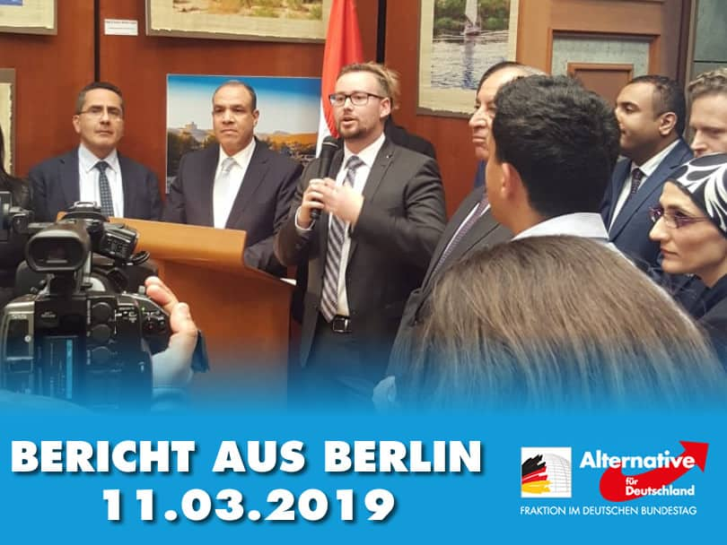 Bericht aus Berlin zur ITB, Fastnacht und Veranstaltungen