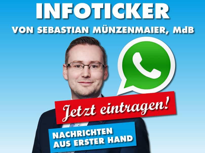 WhatsApp Infoticker NEU