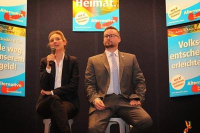 Alice Weidel & Sebastian Münzenmaier