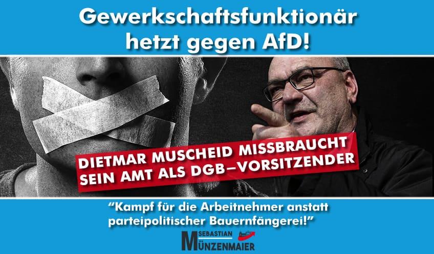 Hetze von Dietmar Muscheid