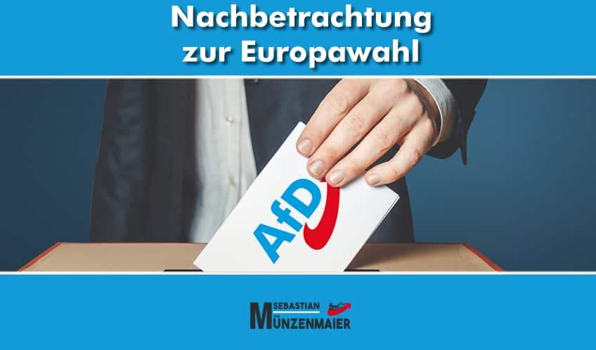 Nachbetrachtung zur Europawahl