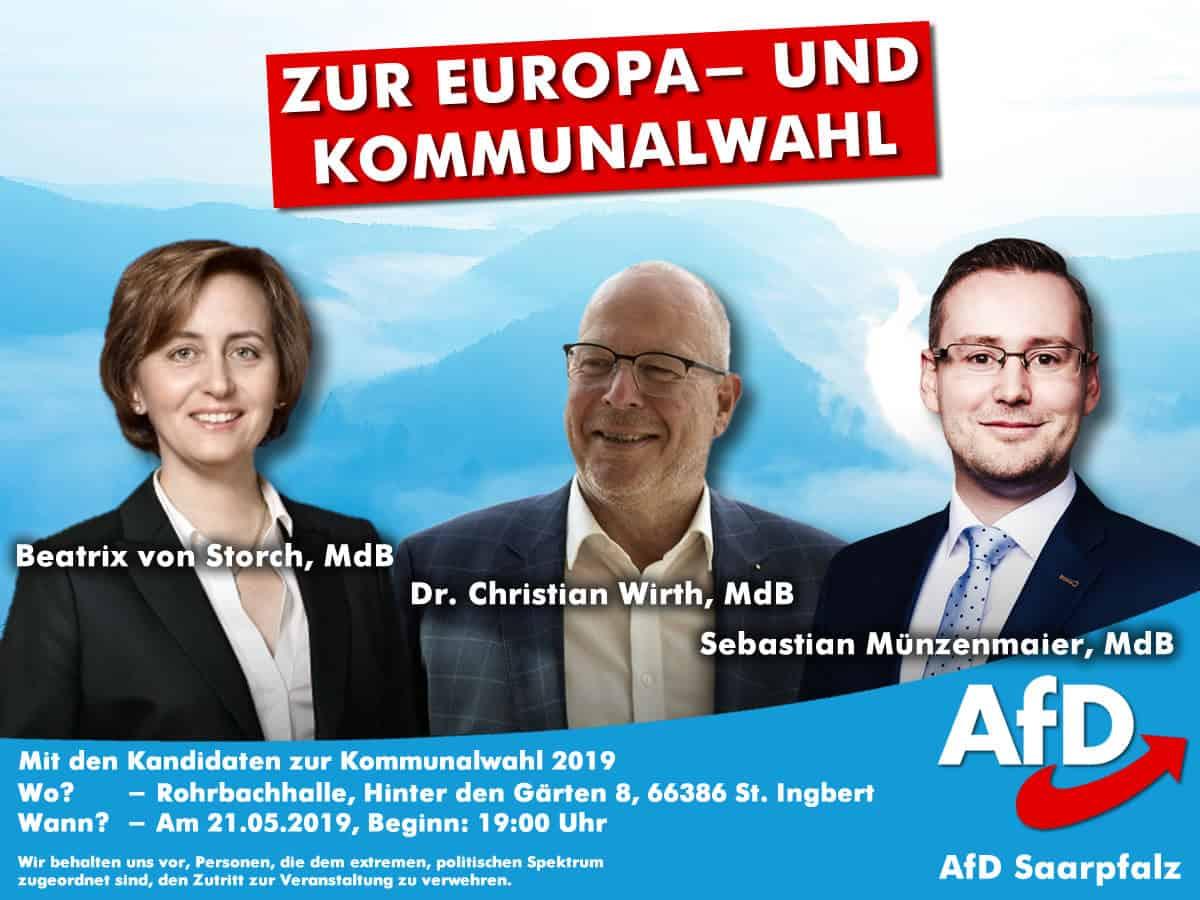 Veranstaltung AfD Saarpfalz