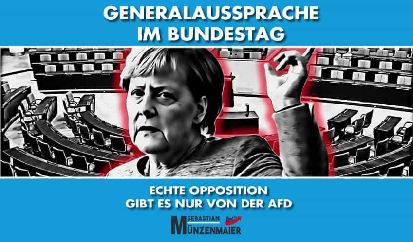 Generaldebatte im Deutschen Bundestag