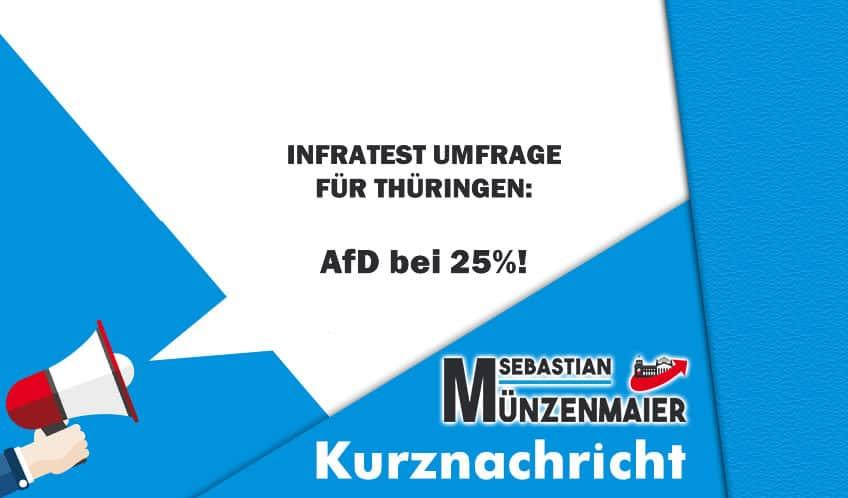 Kurznachricht Umfrage Thüringen