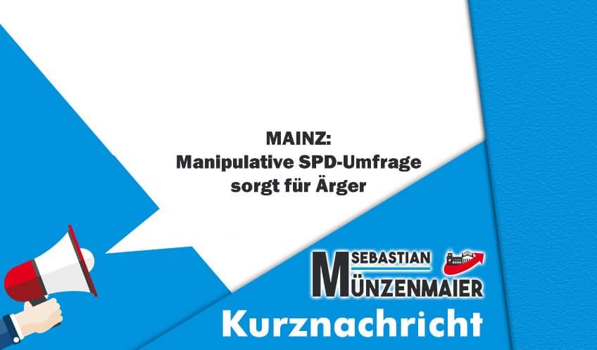 Mainz SPD Umfrage