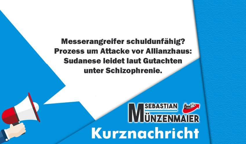 Mainz: Messerangreifer schuldunfähig?