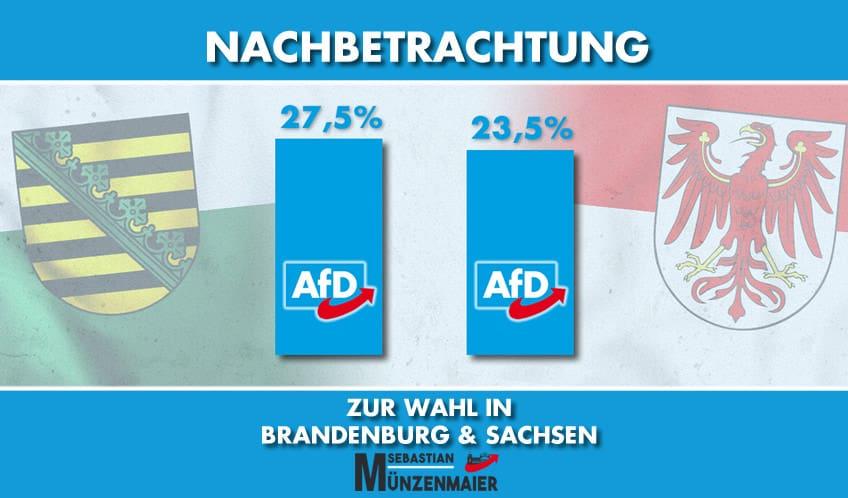 Nachbetrachtung zur Wahl in Brandenburg & Sachsen
