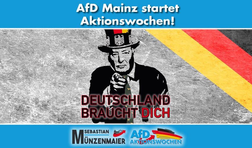Pm - Start der AfD-Mainz-Aktionswochen