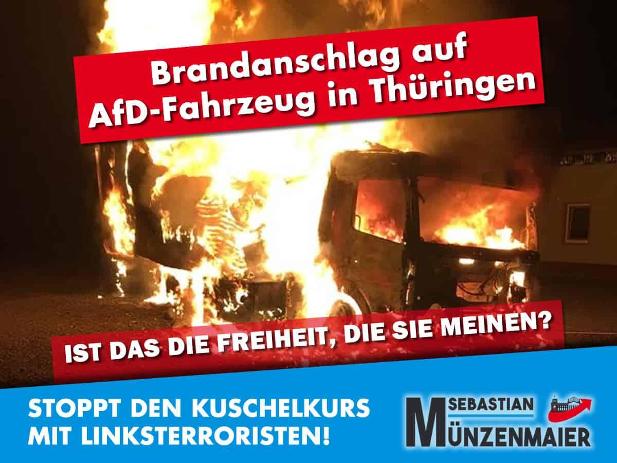 Linksterror in Thüringen