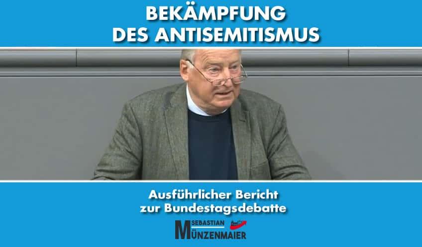 """Debattenbericht """"Antisemitismus bekämpfen"""""""