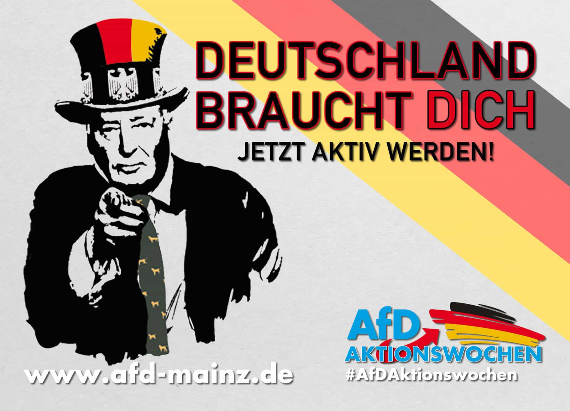 Aktionsowchen AfD Mainz