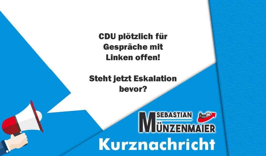 Eskaliert Streit in der CDU?