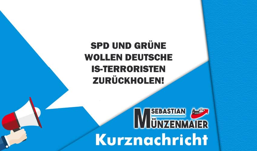 SPD und Grüne wollen IS-Terroristen zurückholen