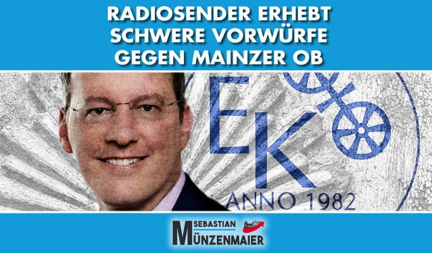 Radiosender erhebt schwere Vorwürfe gegen Oberbürgermeister: Ebling muss sich jetzt erklären!