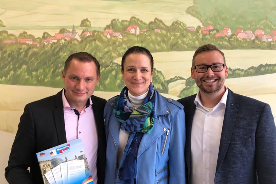 Veranstaltung mit Nicole Höchst, Tino Chrupalla und Sebastian Münzenmaier