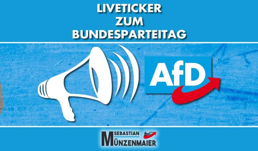 Liveticker - AfD Bundesparteitag 30.11.2019