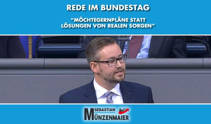 Rede im Deutschen Bundestag - Nationale Tourismusstrategie
