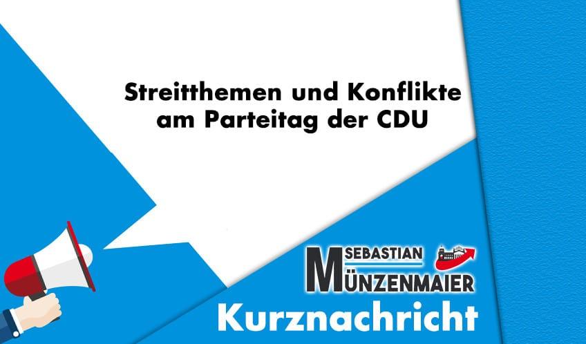 Streit am Parteitag CDU