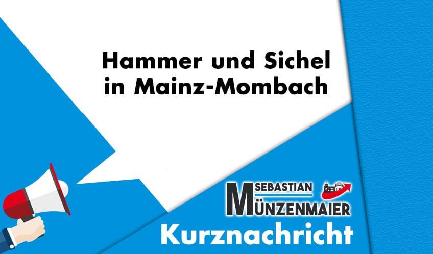 Kommunisten Propaganda Mainz-Mombach