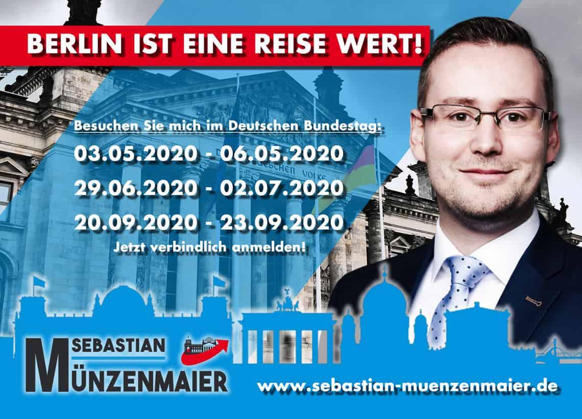 Berlinfahrten 2020 - Sebastian Münzenmaier