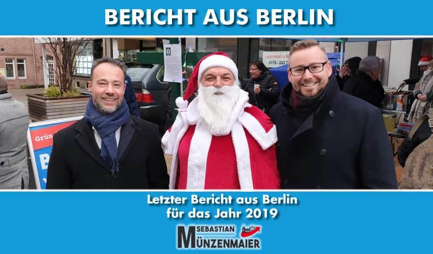 Letzter Bericht aus Berlin für das Jahr 2019