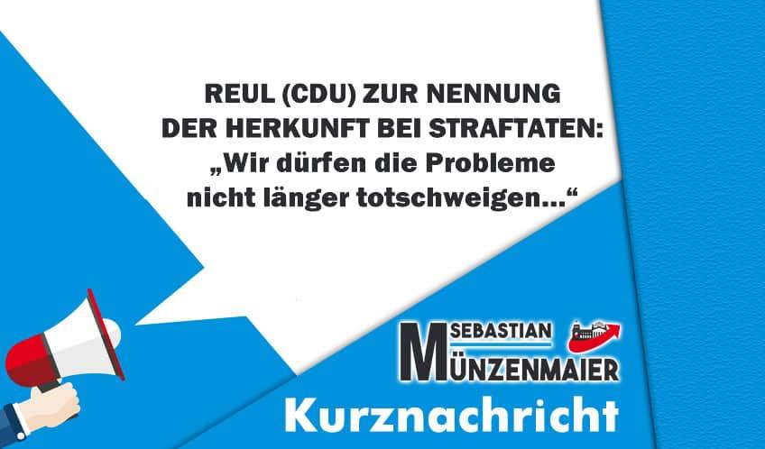 """Reul (CDU): """"Wir dürfen die Probleme nicht länger totschweigen…"""""""