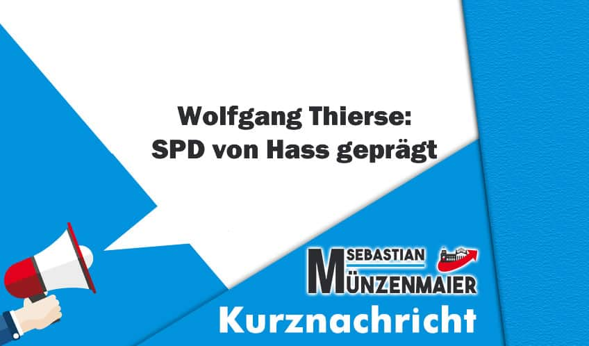 Wolfgang Thierse: SPD von Hass geprägt