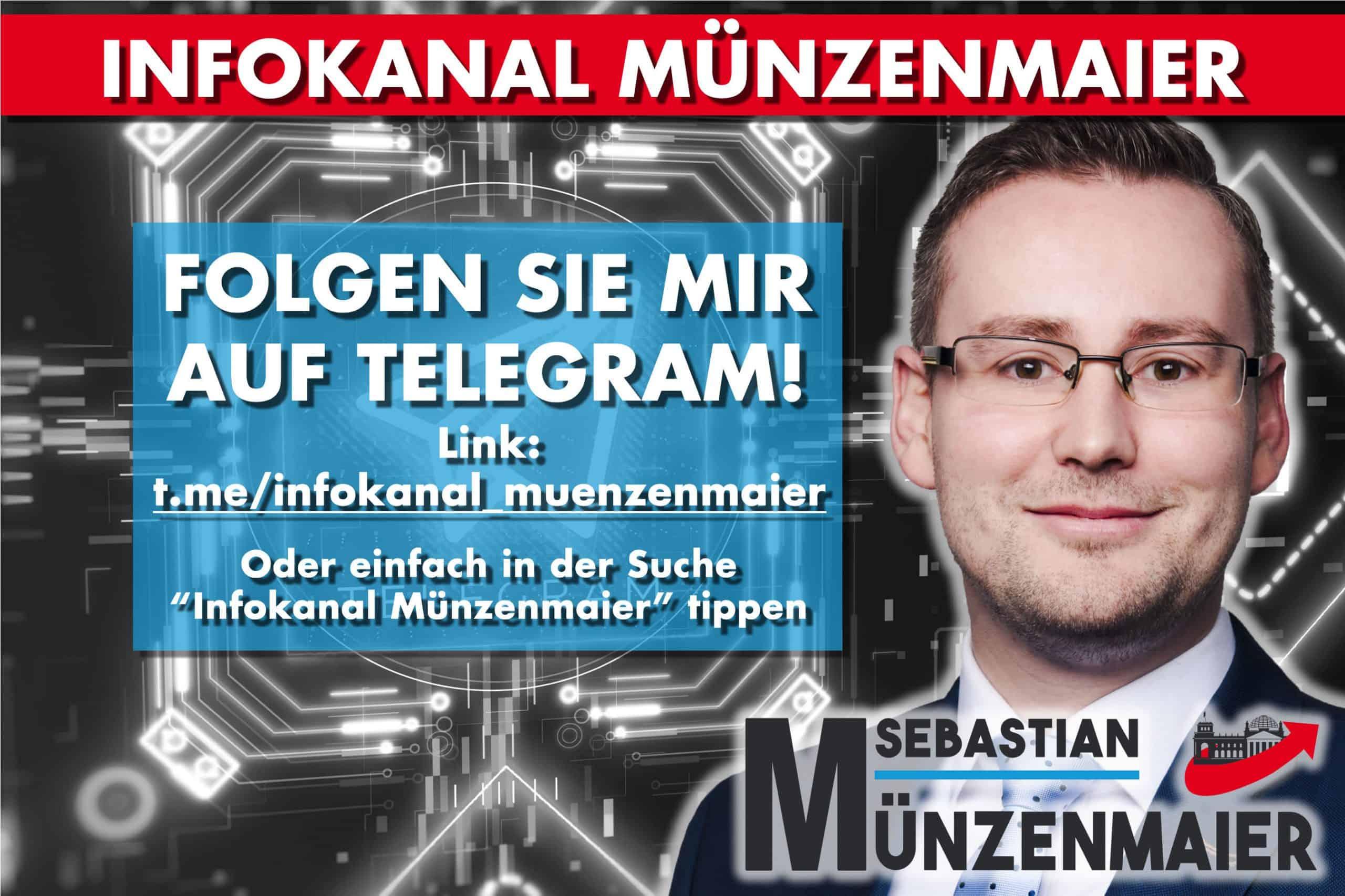 Folgen Sie Sebastian Münzenmaier bei Telegram