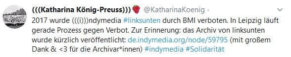 Katharina König-Preuss - Indymedia