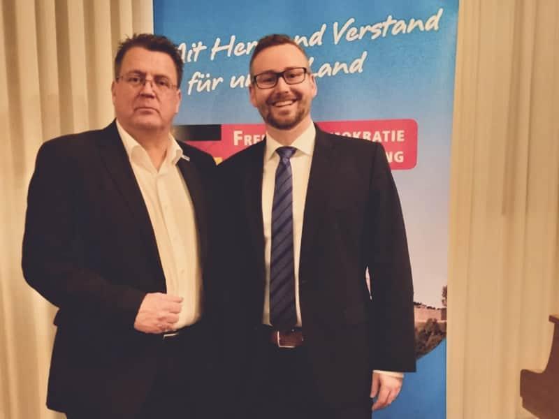 Sebastian Münzenmaier und Stephan Brandner