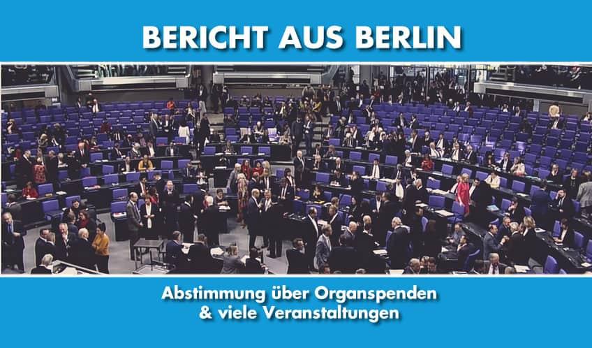 Bericht aus Berlin KW05/2020