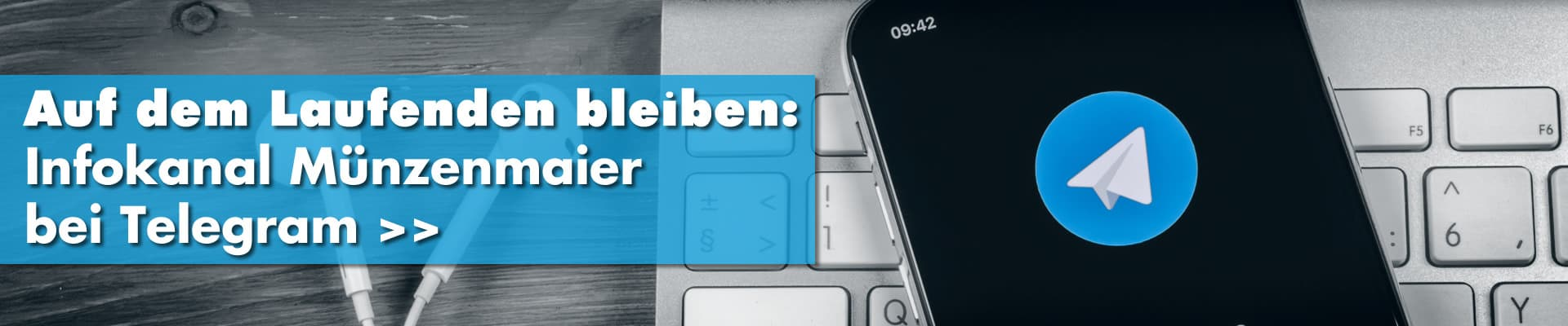Infokanal Münzenmaier bei Telegram