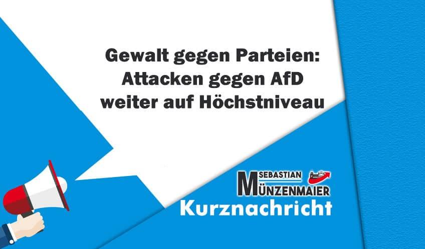 Gewalt gegen AfD