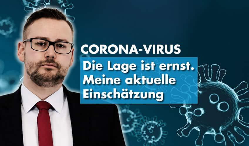 Sebastian Münzenmaier (AfD) - Einschätzung zu Corona