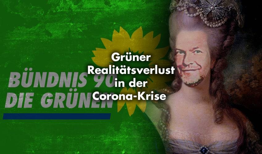 Grüner Realitätsverlust in der Corona-Krise