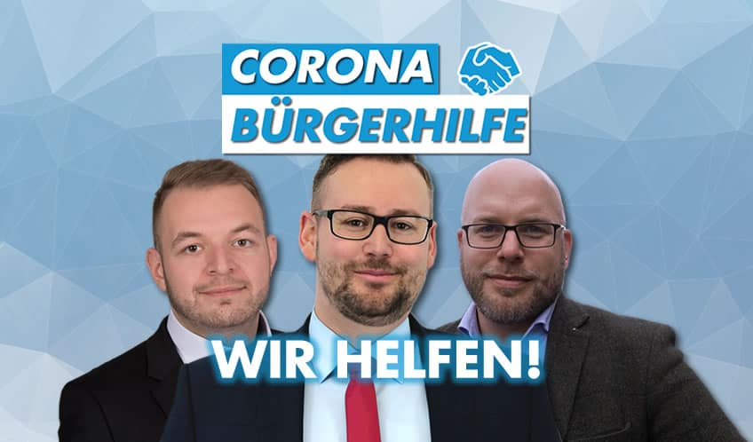 PM Corona Bürgerhilfe
