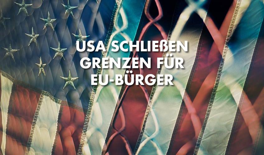 US-Grenze dicht