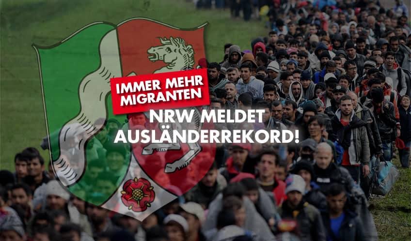 NRW meldet Ausländerrekord