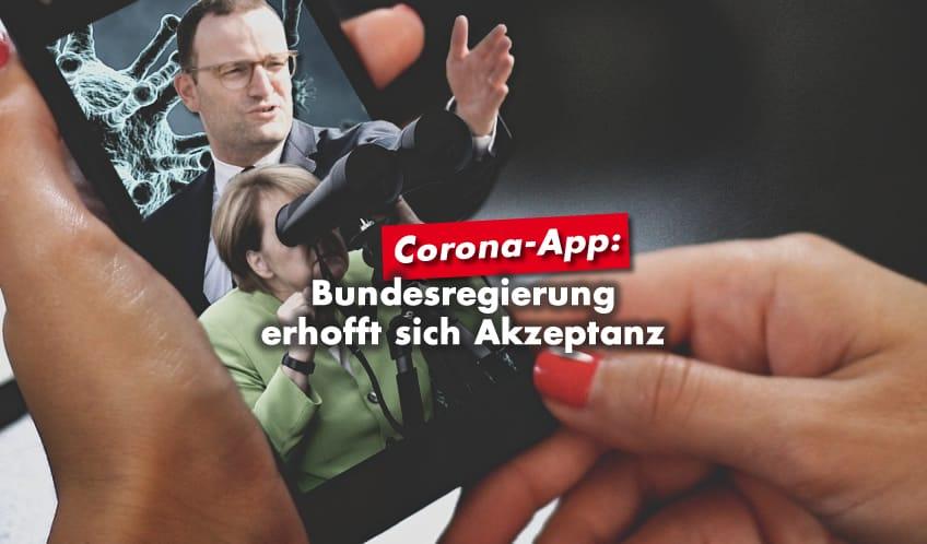 Bundesregierung erhofft sich Akzeptanz für Corona-App