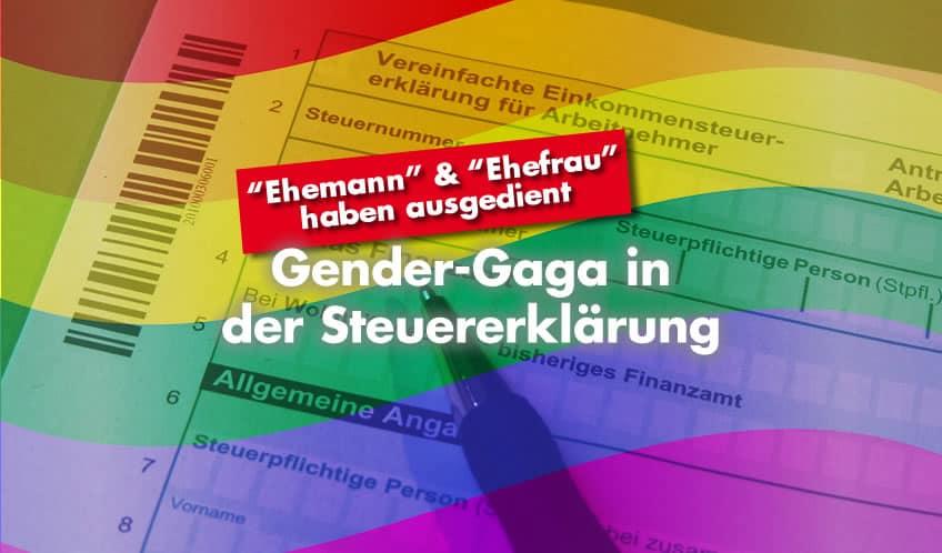 Gender-Gaga in der Steuererklärung