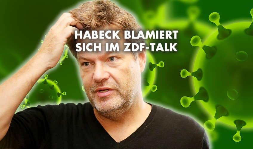 Robert Habeck blamiert sich bei Maybrit Illner