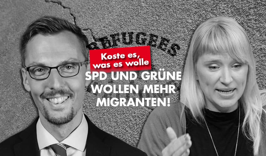 SPD und Grüne wollen mehr Migranten