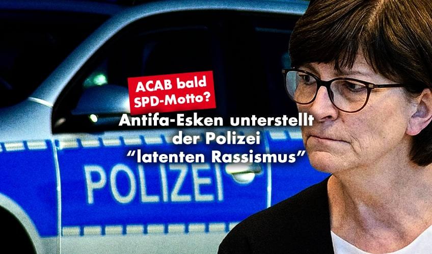 Saskia Esken, Polizei, Rassismus
